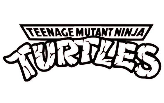 Teenage Mutant Ninja Turtles Logo Vinyl Sticker By
