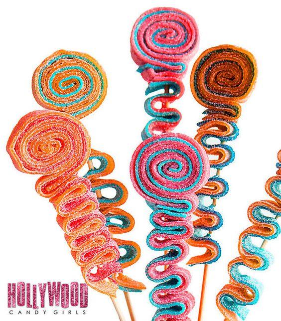 Cotillons brochette de bonbons brochettes par HollywoodCandyGirls