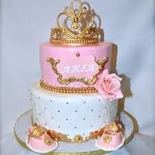 pink and gold baby shower cake lenays baby shower pinterest gold