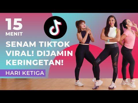 Joget Tiktok Sekaligus Menurunkan Berat Badan 7 Hari Senam Aerobik Di Rumah Hari Ketiga Youtube Berat Badan Senam Kebugaran