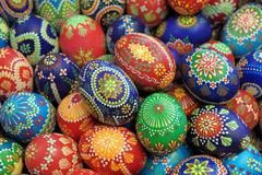 """""""The true experts in egg-painting are the Sorbs, a Slavic minority in eastern Germany, on the border with Poland and the Czech Republic. They have even refined this art by actually embellishing some of the eggs with delicate embroidery."""" (discover-germany.diplo.de) ~ Epi"""