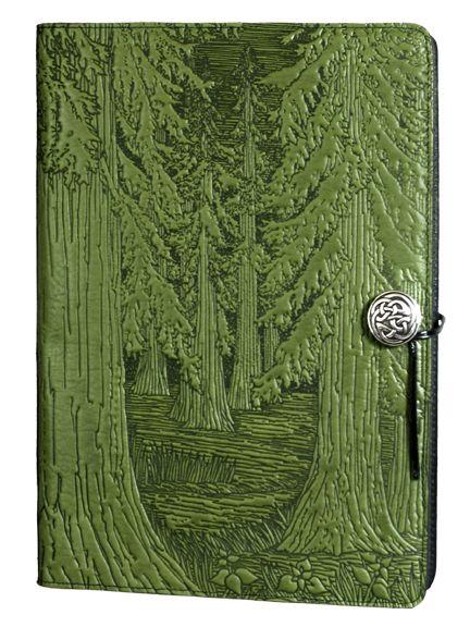 Leather Sketchbook Journal | Forest | Extra Large | Oberon Design