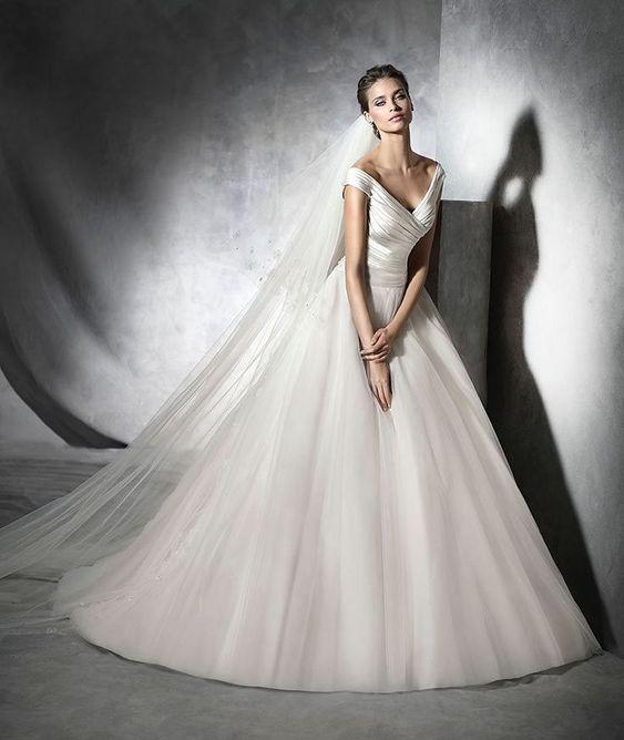 Classic Pronovias wedding dresses