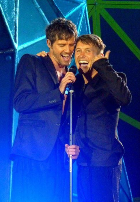 Jason Orange. Mark Owen. Take That 2015!