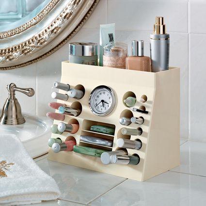 Bathroom Countertop Makeup Organizer Laptoptabletsus - Bathroom counter makeup organizer