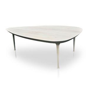 Mesa 69, diseño de Studioroca. Mesa ovoide disponible en dos distintas dimensiones 150cm o 231cm. Con variedad de maderas a elegir.