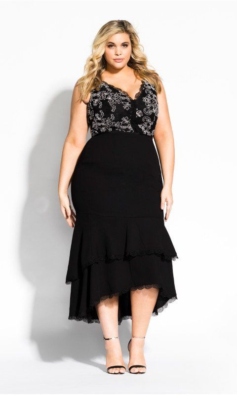 Sweet Occasion Dress - Black | Plus size black dresses, Plus ...