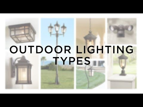 Outdoor Lighting Types Light Guide Lamps Plus