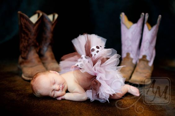 Baby Cowgirl... I so love this.. We tried something so similar with bri but she was uncooperative and we ran out of time. Love this tho