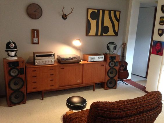 Classic Man Cave Furniture : Vintage hifi systems system pinterest