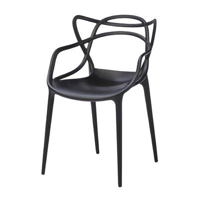 Kartell Masters Dining Chair Set Of 2 Color Black Masters