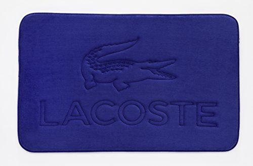 Lacoste Memory Foam Logo Rug Surf Blue Target Bath Rug Bath Runner Rugs Bath Rugs