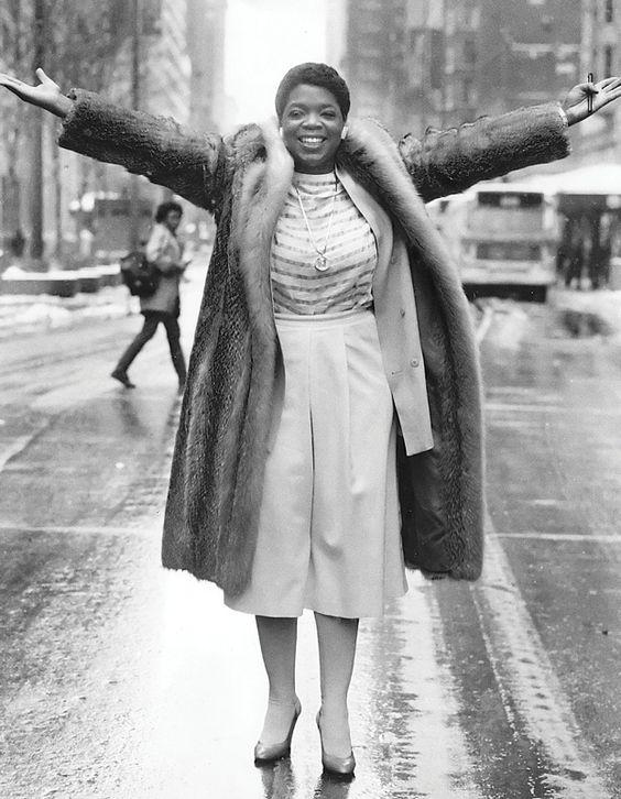 Oprah Winfrey circa 1984