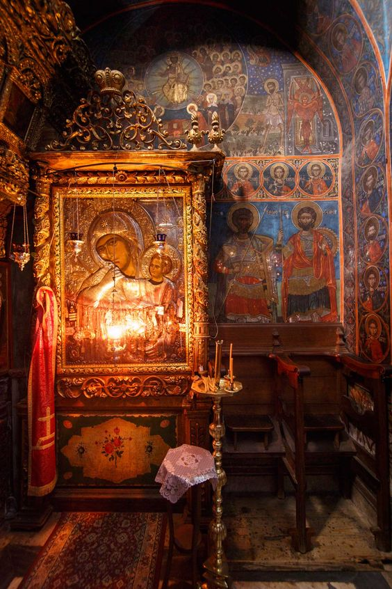Paramythia – A miracle-working icon of Mother of God and its feast   Holy Mount Athos  | Services | icon