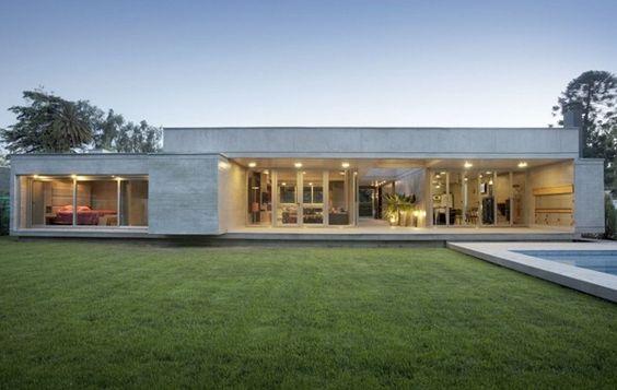 Casa moderna Fioretti por A4 estudio