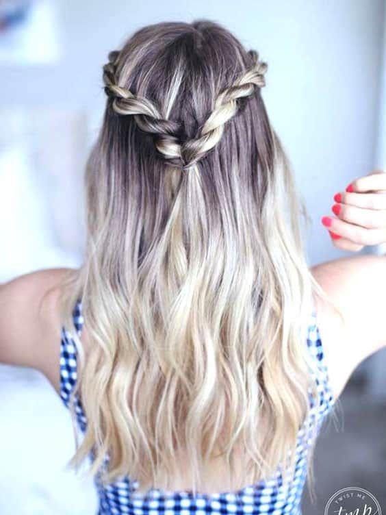 70 Super Easy Diy Hairstyle Ideas For Medium Length Hair Ecemella Easy Work Hairstyles Medium Hair Styles Easy Hairstyles