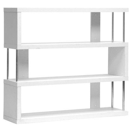Javier Bookcase in White