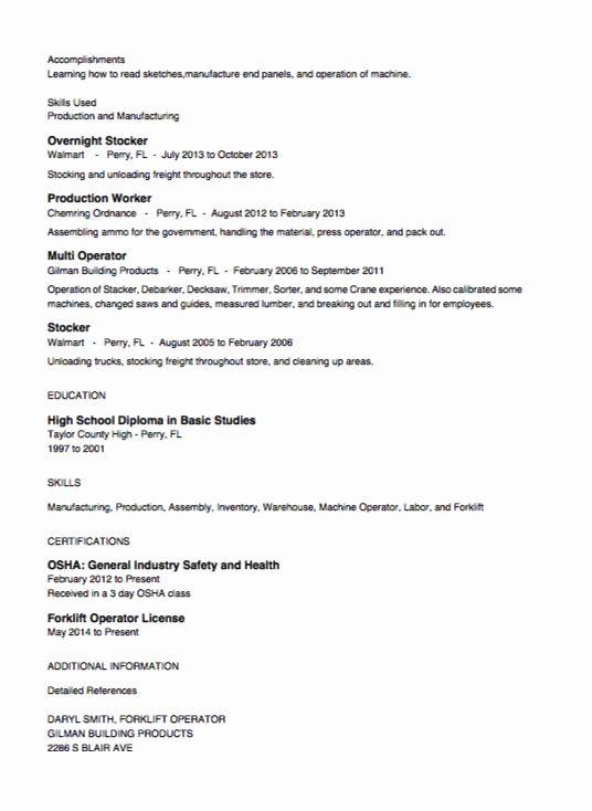 20 Stock Job Description Resume In 2020 Job Resume Examples