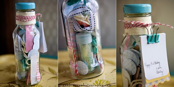 ketchup container turned craft jar