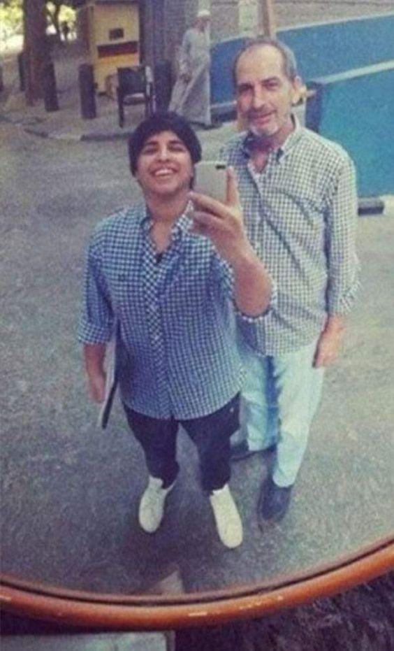 El actor egipcio, Hesham Selim, apoyó en el programa de TV 'Al-Qahera Wal Nas' a su hijo trans