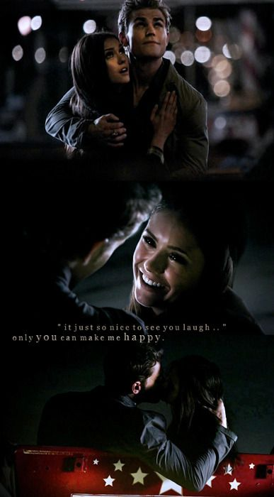 Elena and Stefan - The Vampires Diaries.I love watching ...
