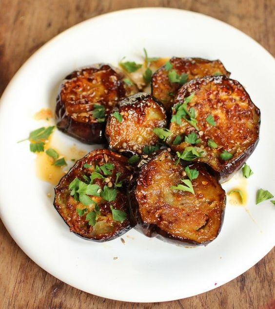 Vintage Kitchen Notes: Grilled Eggplants with Honey and Spices ...