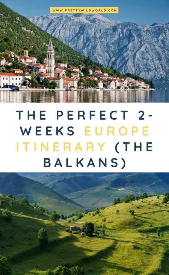 2 5 Weeks Europe Itinerary Travel Around The Balkans By Bus Europe Trip Itinerary Eastern Europe Travel Europe Itineraries