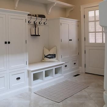 Mudroom Cabinetry Cottage Laundry Room Ciuffo Cabinetry