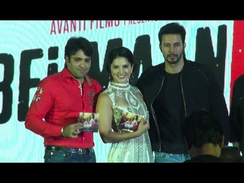 Sunny Leone and Rajneesh Duggal At BEIIMAAN LOVE Music Launch