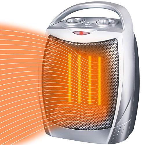 Moonflor Space Heater Electric Heater Portable Ceramic Heater With