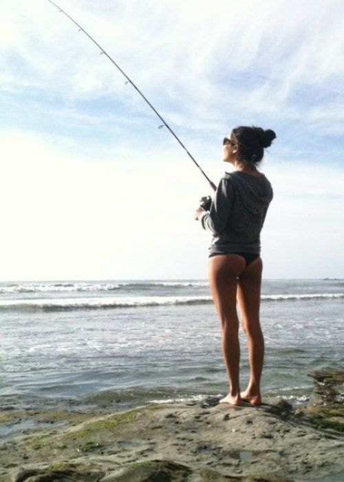Grab your rod these girls wanna go fishing 37 photos for Topless girls fishing