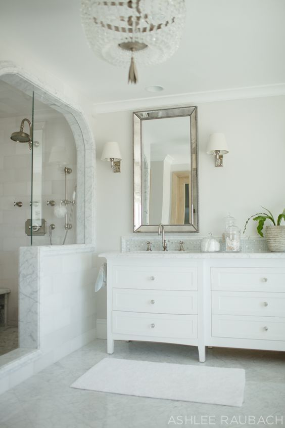 How To Choose Paint With Images White Marble Bathrooms