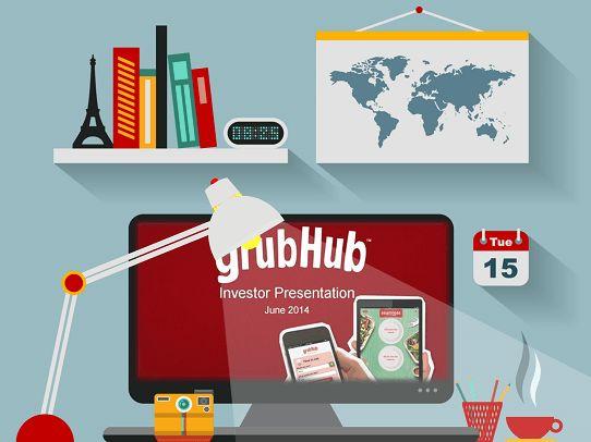 Powerpoint Presentation Design Tips  Grubhub Investor