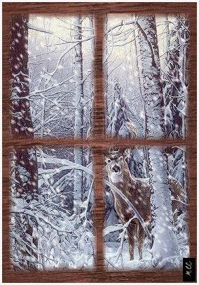 Regardant par la fenêtre Noël et la neige en hiver | Paysages d'hiver et animations hivernales animées enneigées gif Regarder par la fenêtre Noël et neige d'hiver | Paysages d'hiver et animations givrées #Regardant #fenêtre #Noël #neige #d'hiver