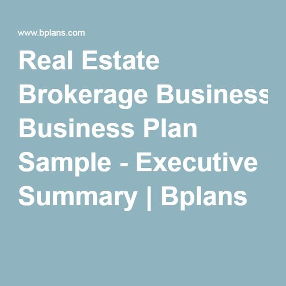 Company summary business plan