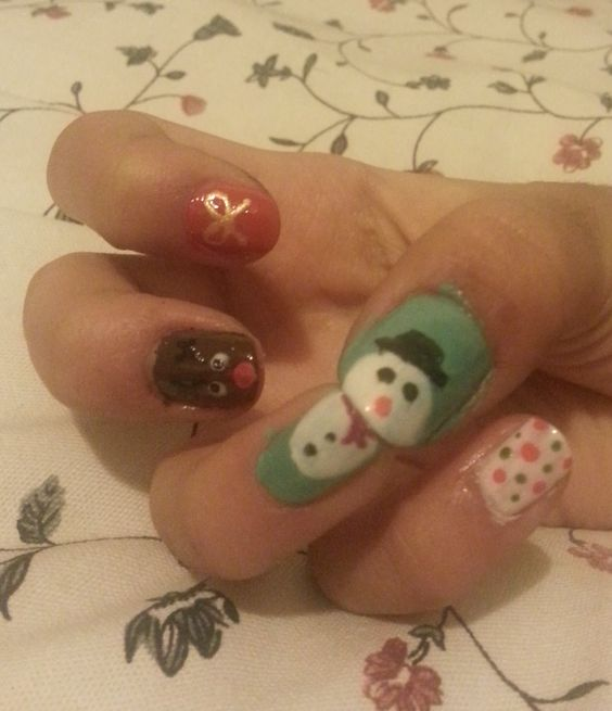 Christmas Nails #Christmas