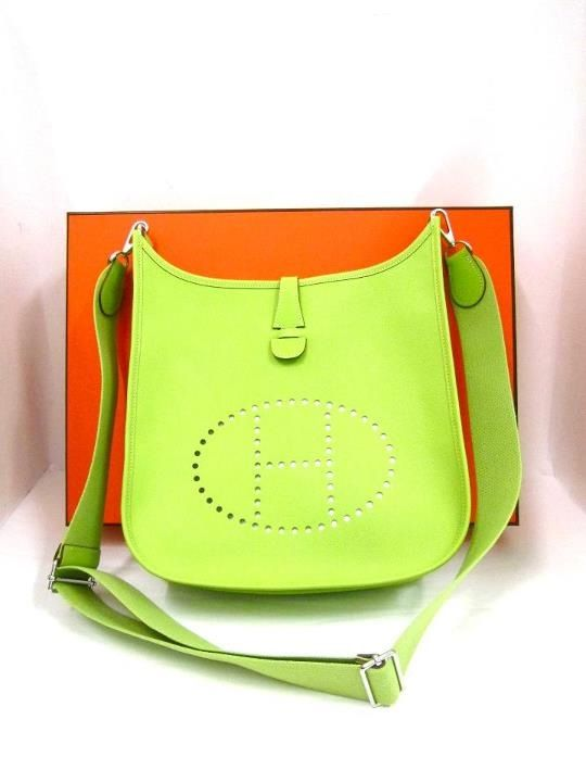 ostrich birkin bag - Hermes Evelyn PM Size LOVE this bag!!! In this color, too :) | My ...