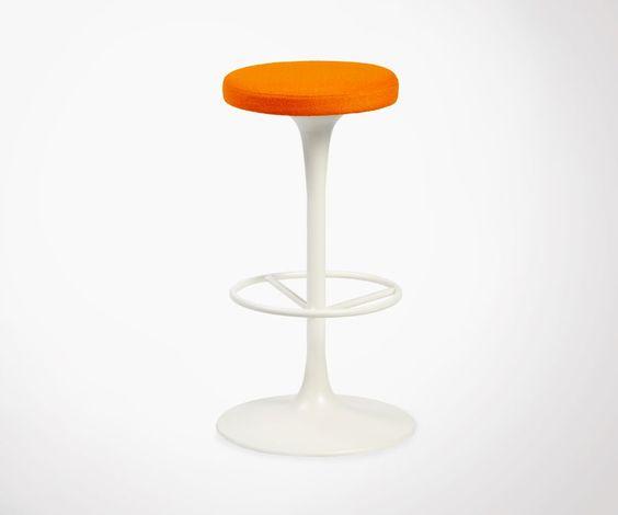 Tabouret Moderne Style Chaise Tulip Saarinen. Différentes Couleurs