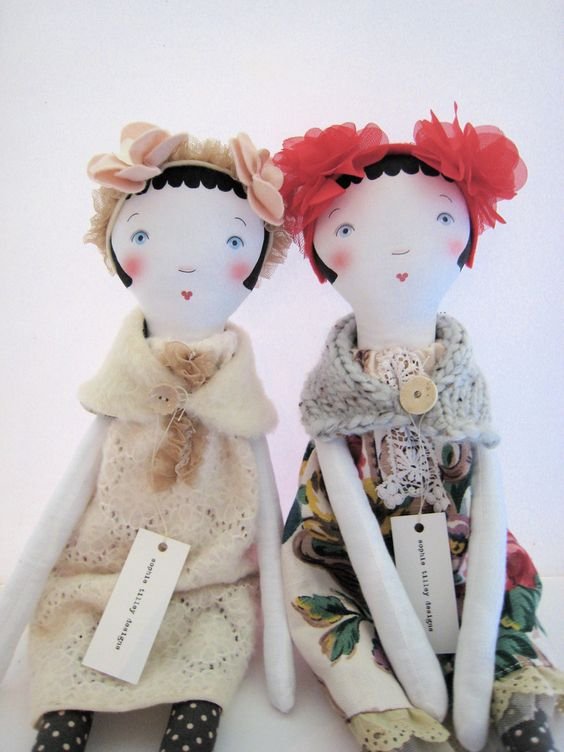 Petranille Cloth Doll designed by Sophie Tilley.