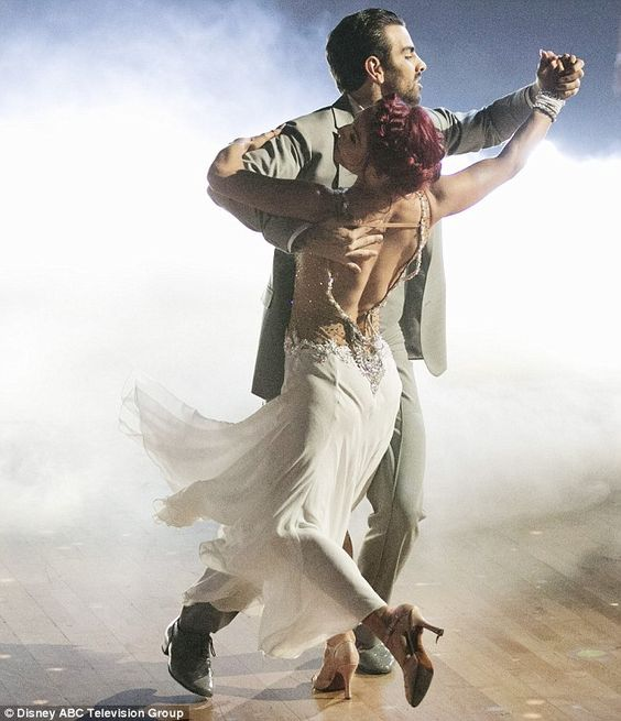 Emotional performance: Nyle and Sharna danced a Viennese waltz together