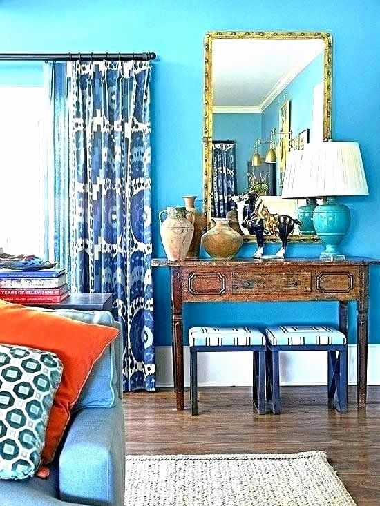 Living Room Interior Design Navy Blue Awesome What Color Curtains With Blue Walls Musicdash Di 2020
