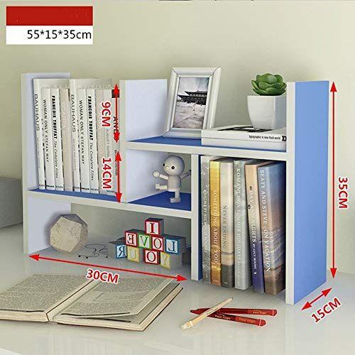 Yang Home Bedroom Bookcase Bookshelf Desktop Simple Storage Rack Multifunction Shelves Student Dormitory Bed Bedroom Bookcase Bedroom Furniture Shops Bookcase