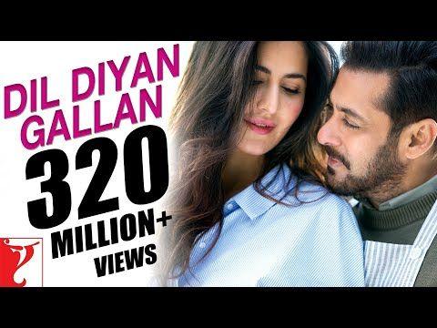 Download Dil Diyan Gallan Atif Aslam Song From Movie Tiger Zinda Hai Salman Khan Katrina Kaif Full Mp3 Bollywood Movie Songs Bollywood Music Videos Songs