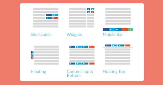 5 Alternatives To The Addthis Share Buttons Wordpress Plugin Wordpress Plugins Plugins Share Button