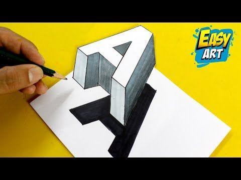 Informatizadas Blogspot Com Dibujo Facil 3d Como Dibujar 3d Letra A Como Dibujar Letras 3d Arte Facil Letras En 3d Arte Sencillo Produccion Artistica