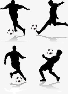 Pin By Natalia Dorova On Fondant In 2020 Soccer Silhouette Soccer Birthday Soccer Theme