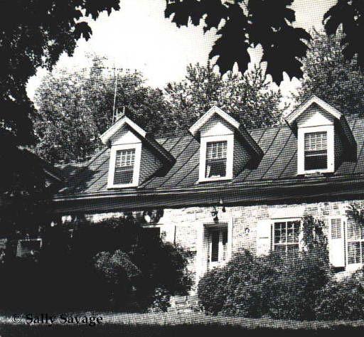 Onderdonk House, Piermont, New York.