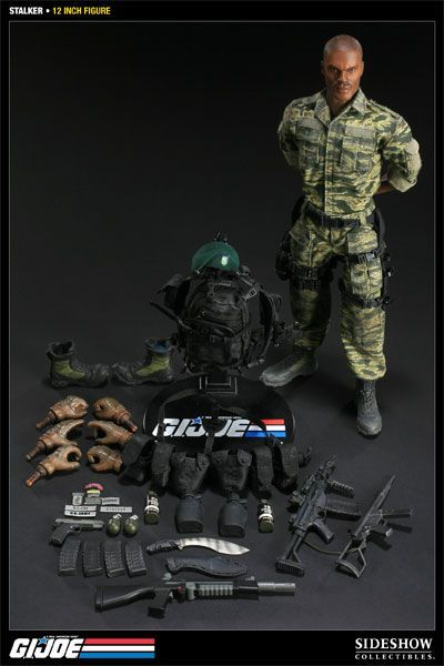 onesixthscalepictures: Sideshow Collectibles GI Joe Stalker : Latest product news for 1/6 scale figures (12 inch collectibles).