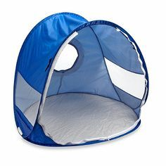 The Beach Baby Pop Up Shade Dome provides instant shade and sun protection almost anywhere. Great for the beach, backyard, park and more.