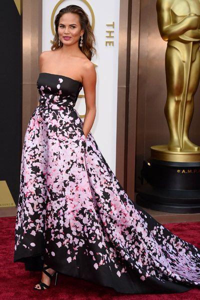 Oscars 2014 - Christine Teigen